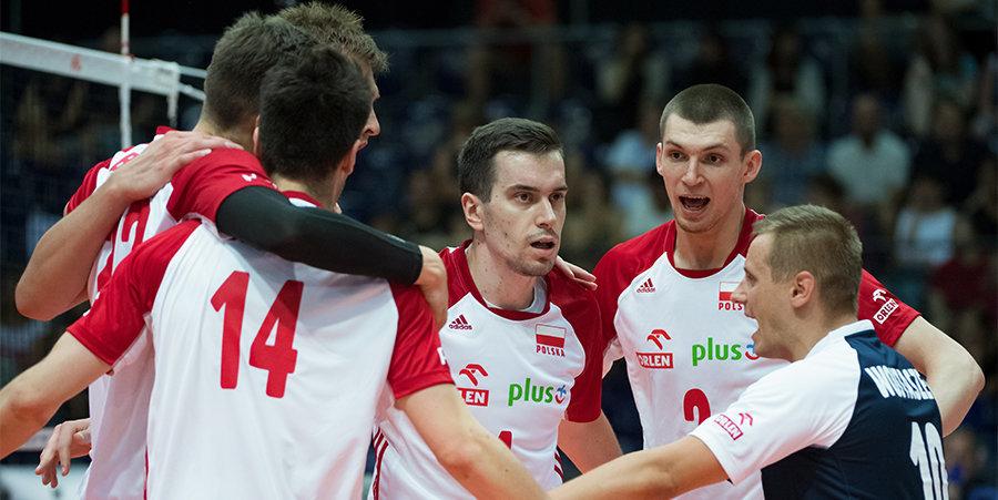 Сборная России сыграет с Польшей в четвертьфинале ЧЕ по волейболу