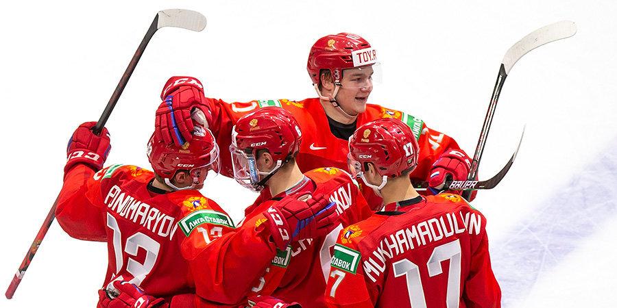 Сборная России обыграла Германию и вышла в полуфинал МЧМ-2021