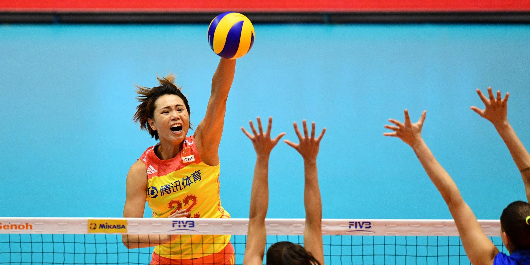 Женская сборная Китая стала обладателем бронзы Лиги наций
