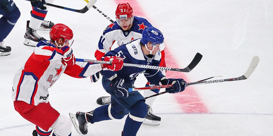 ЦСКА в дерби победил «Динамо», «Спартак» потерпел пятое поражение подряд, уступив «Сибири»