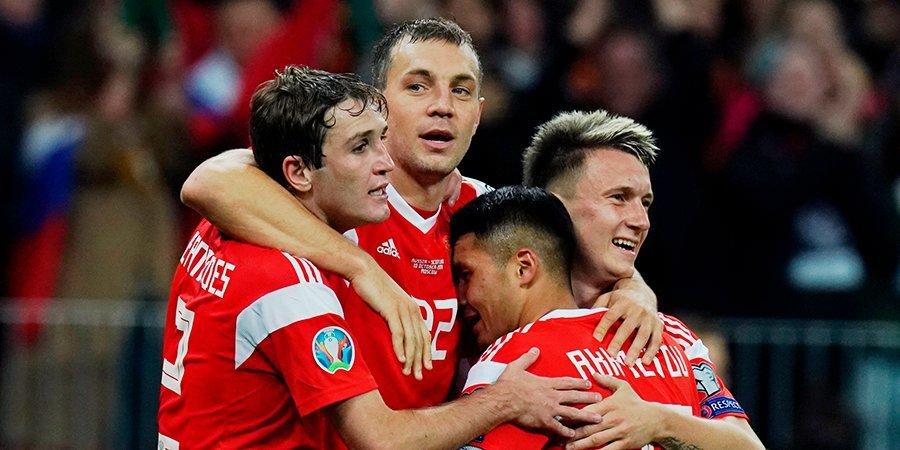 «По-моему, это очевидно. Дзюба, конечно!» Игроки сборной России назвали самых веселых и неповоротливых футболистов