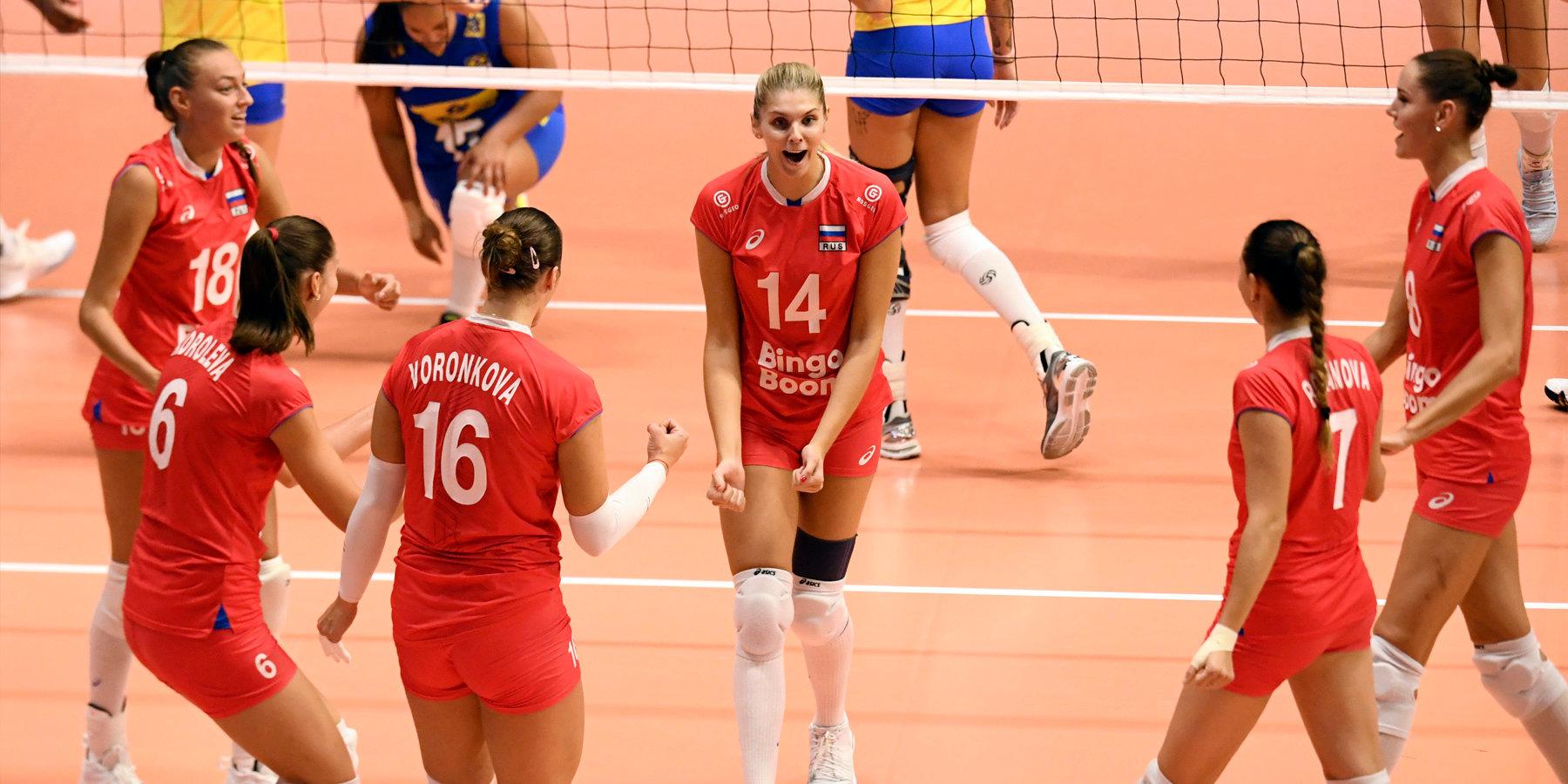 Волейбол сборная россии 2019 женщины [PUNIQRANDLINE-(au-dating-names.txt) 51
