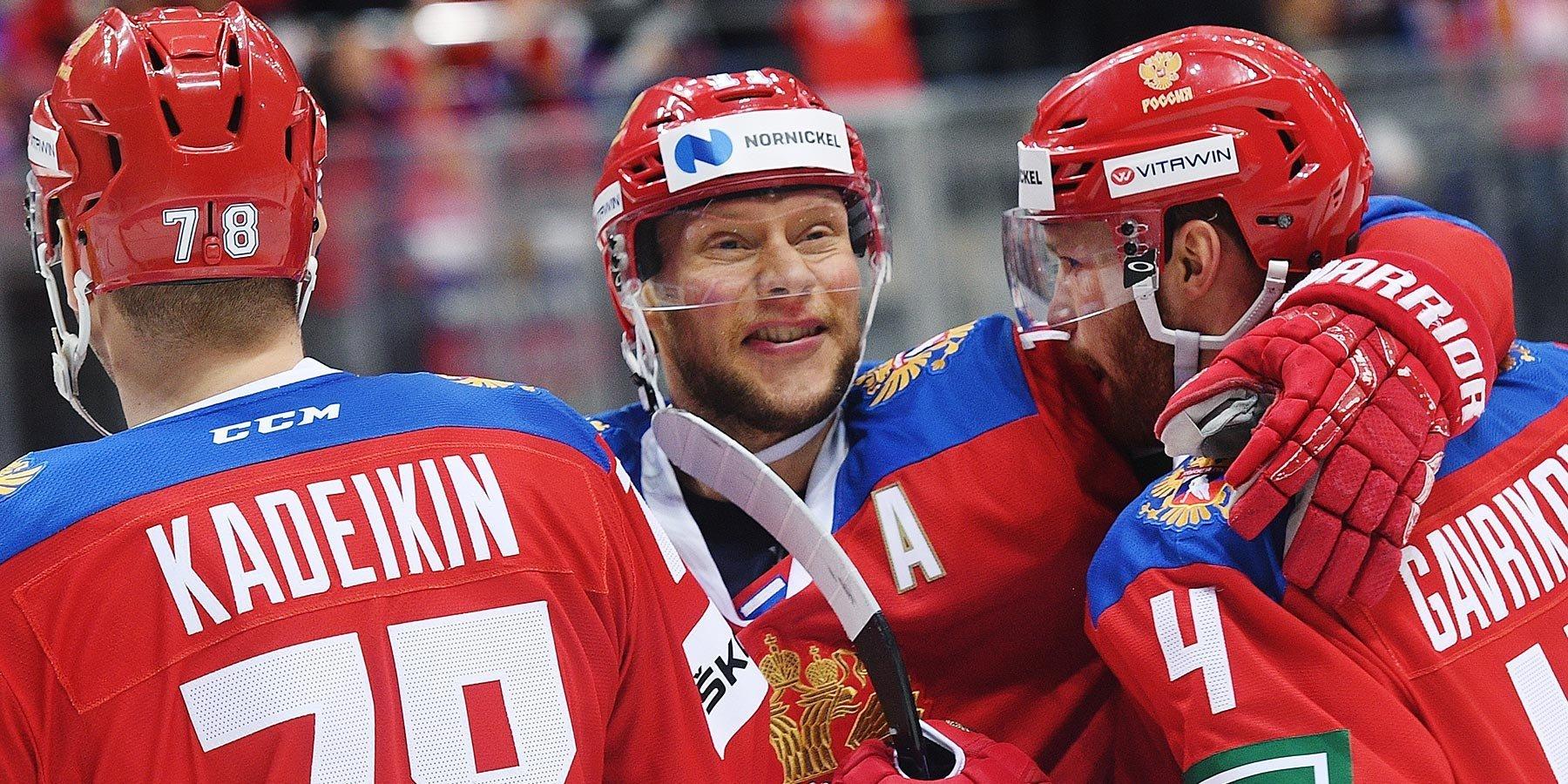 Сборная России по буллитам переиграла Швецию в первом матче домашнего этапа Евротура
