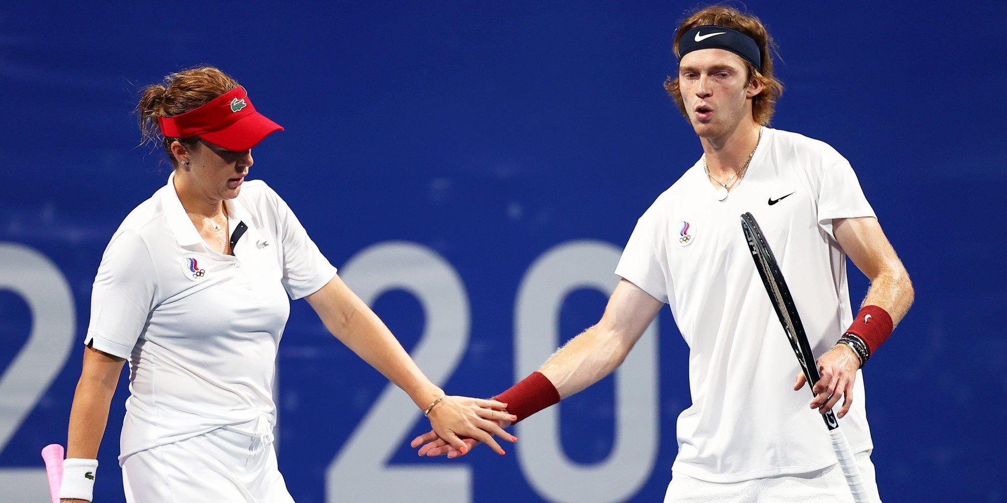 Павлюченкова и Рублев вышли в полуфинал Олимпийских игр