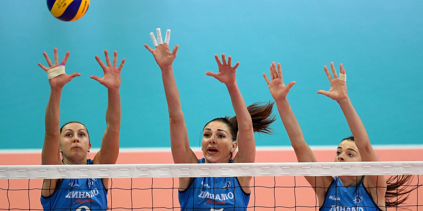 Московское «Динамо» одержало победу над «Уралочкой-НТМК» в Лиге чемпионов