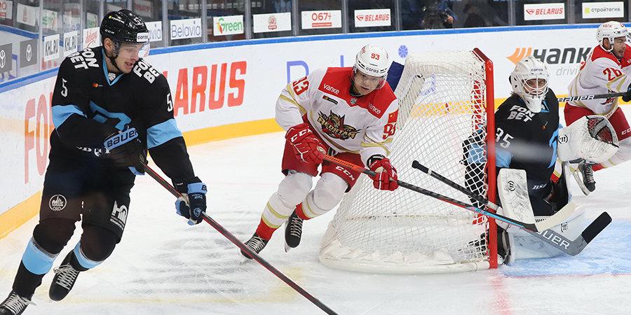 Рижское и минское «Динамо» одержали победы в матчах КХЛ