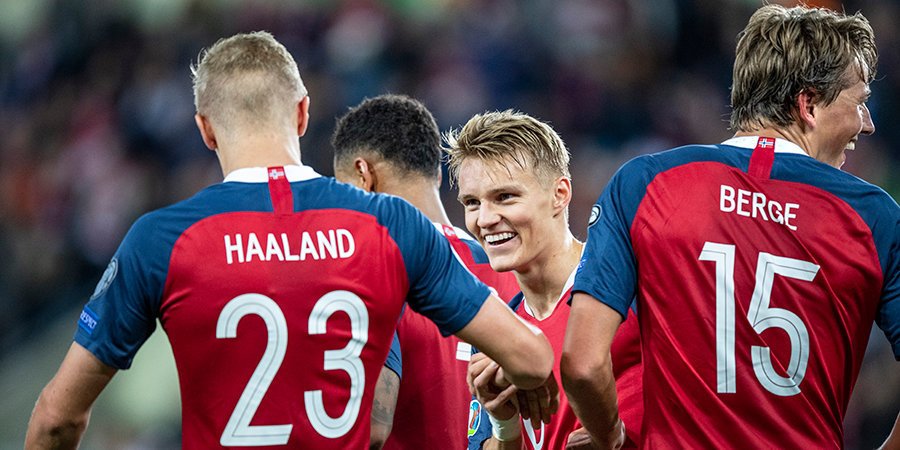 Гол Холанда не помог Норвегии в матче против Австрии