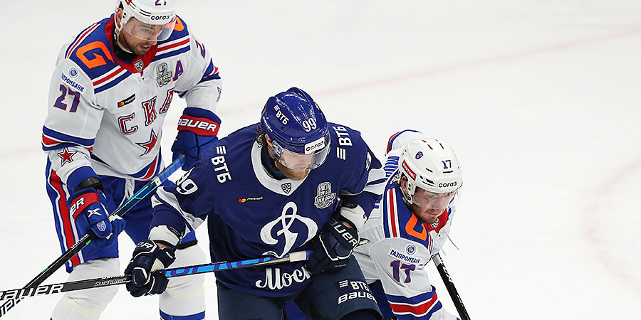 СКА повел в серии с московским «Динамо»