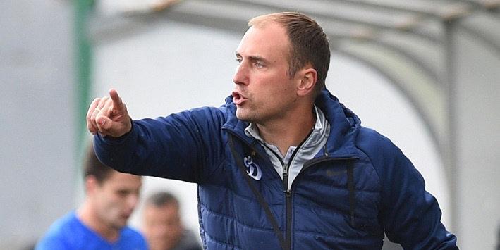 Новиков провел первую тренировку в «Динамо»