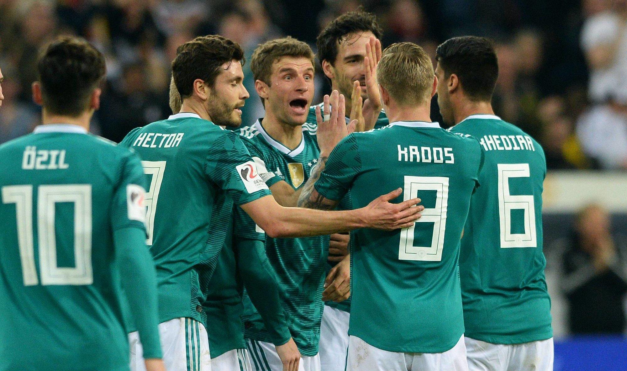 Расширенная заявка сборной Германии на ЧМ-2018
