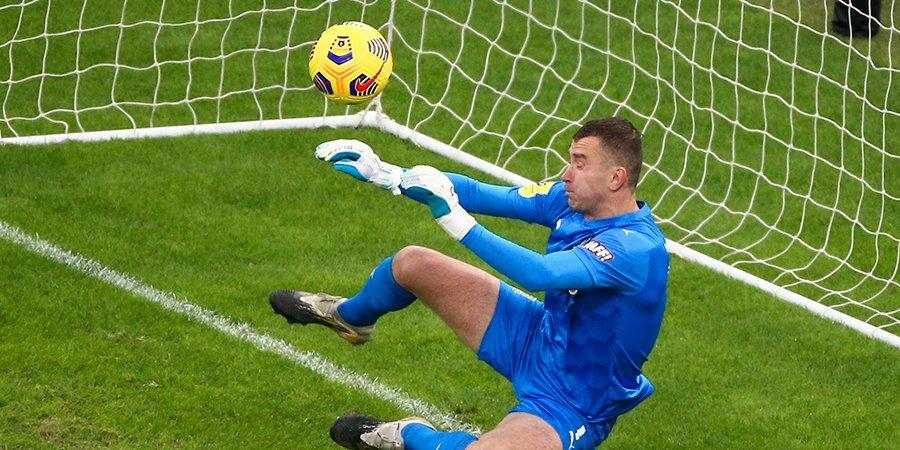 Генич считает, что во всех 5 пропущенных мячах «Краснодара» в последних матчах есть вина Городова