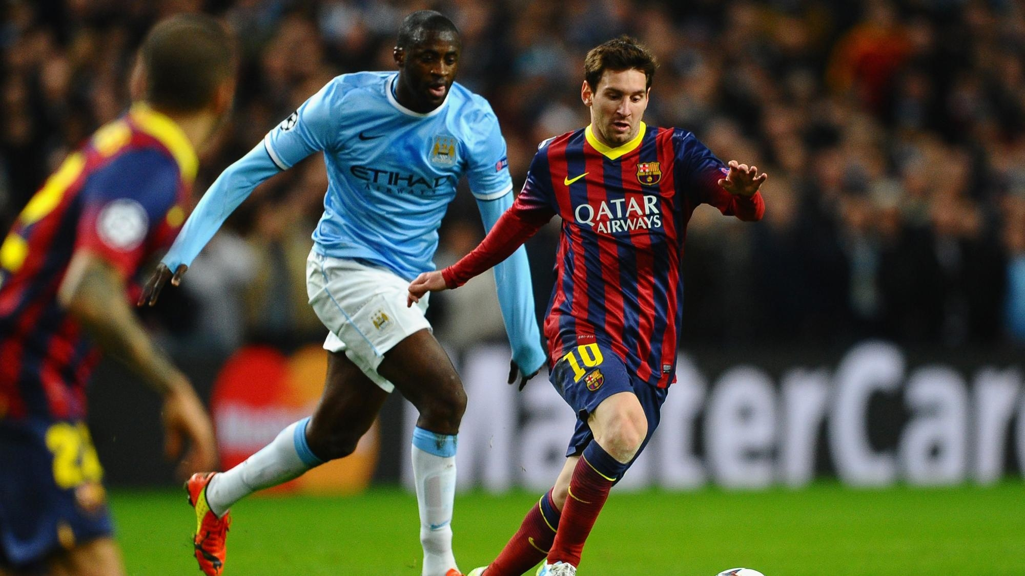 Прогноз на матч Барселона — Манчестер Сити 19.10.2016
