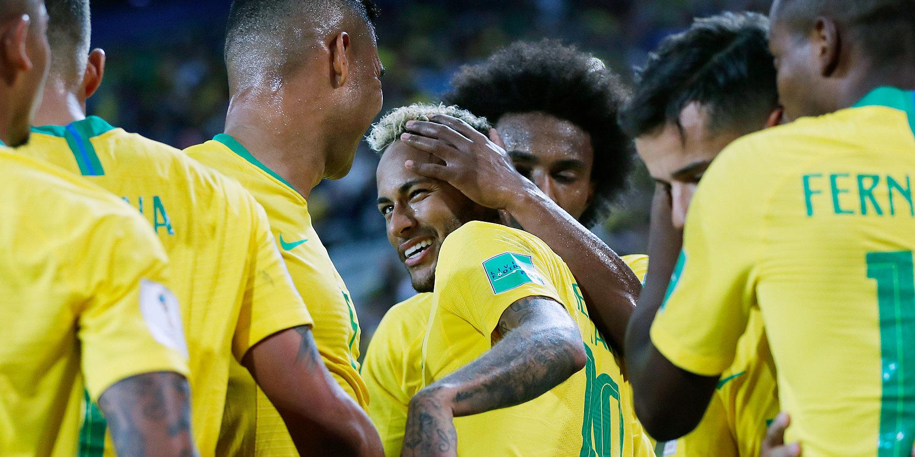Бельгия: Онлайн матча Бразилия