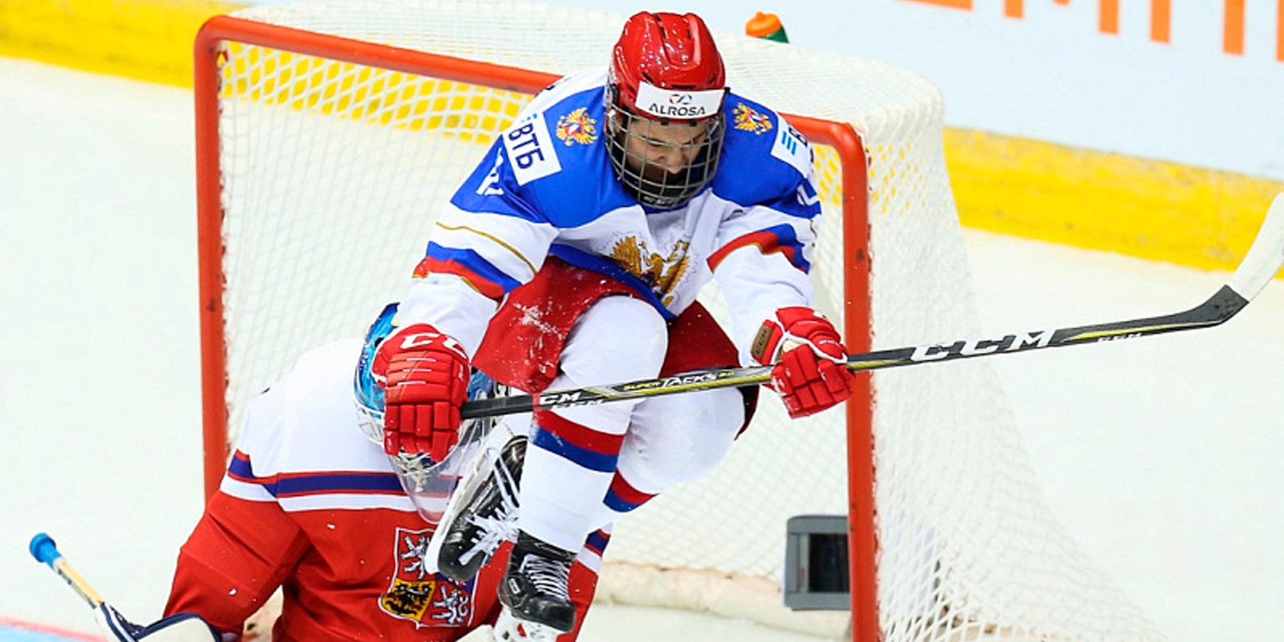 Сборная Российской Федерации похоккею проиграла все три матча этапа Евротура вЧехии