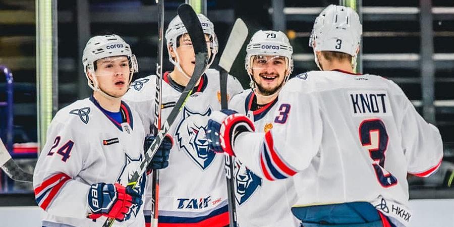«Нефтехимик» победил «Йокерит» в КХЛ в матче с девятью шайбами