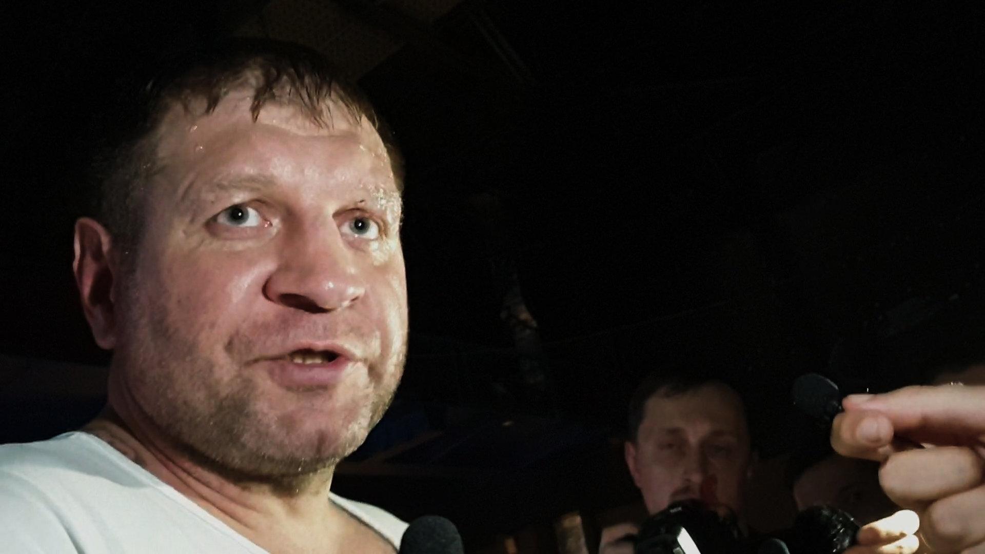 Блогер Артем Тарасов: «Видел страх в глазах Емельяненко»