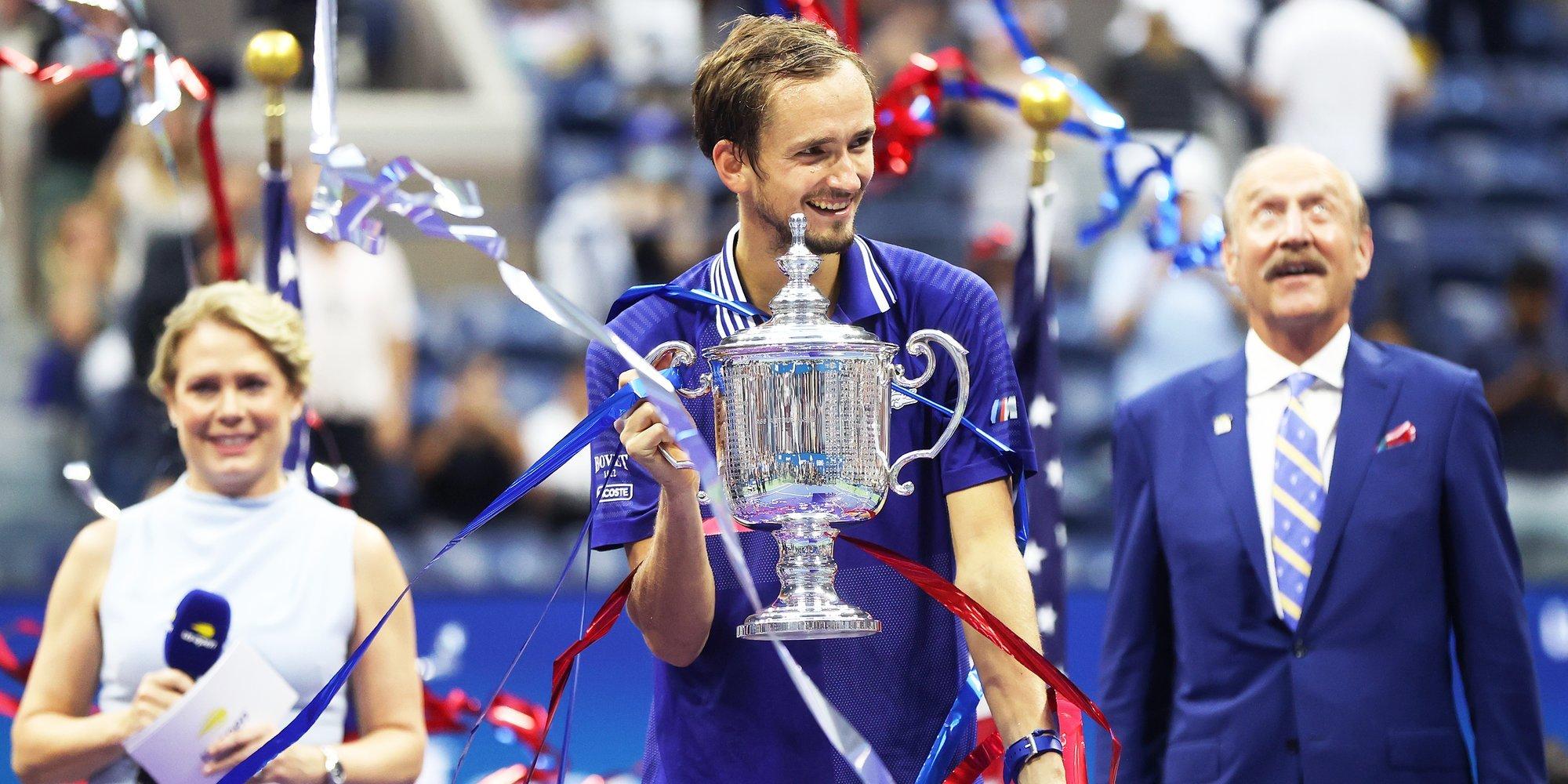 Даниил Медведев — о последствиях победы на US Open: «Многие пытались заплатить за меня в ресторане»