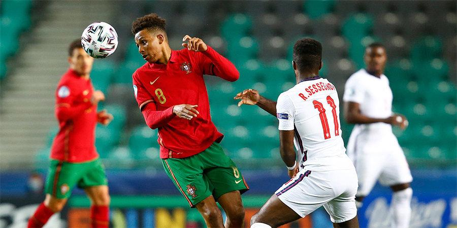 Португалия обыграла Англию на молодежном Евро. Гол Моро помог Хорватии победить Швейцарию