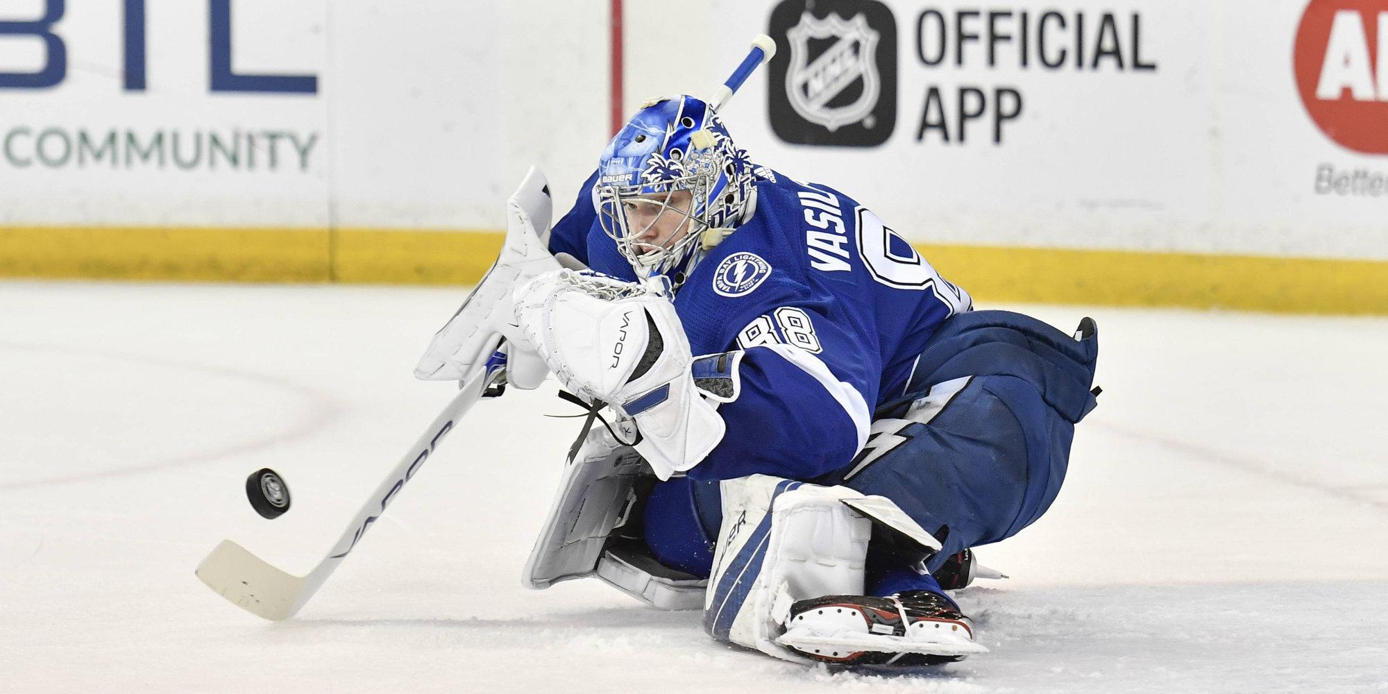 Василевский — второй россиянин, который примет участие в Матче звезд НХЛ