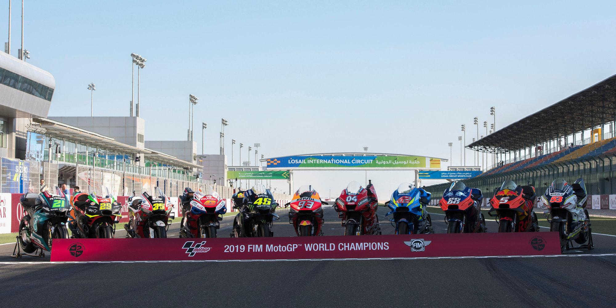 Старт сезона в Moto GP перенесли на начало мая