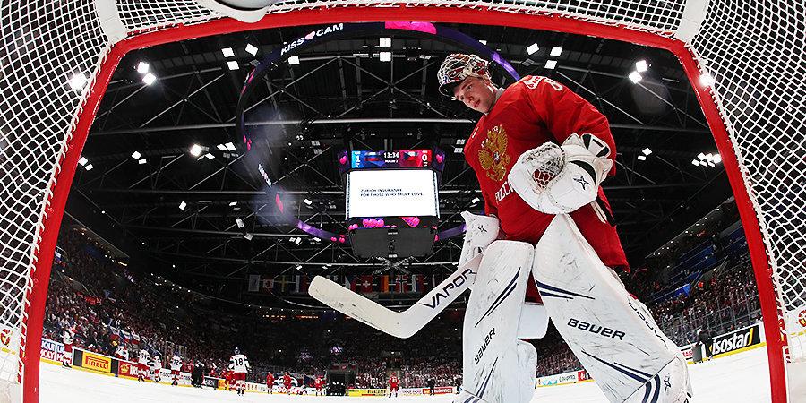 Сборная России сыграла на ноль во втором матче подряд. Овечкин вновь без очков