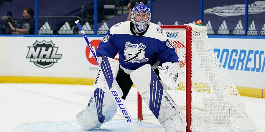 Василевский признан лучшим вратарем по версии игроков НХЛ