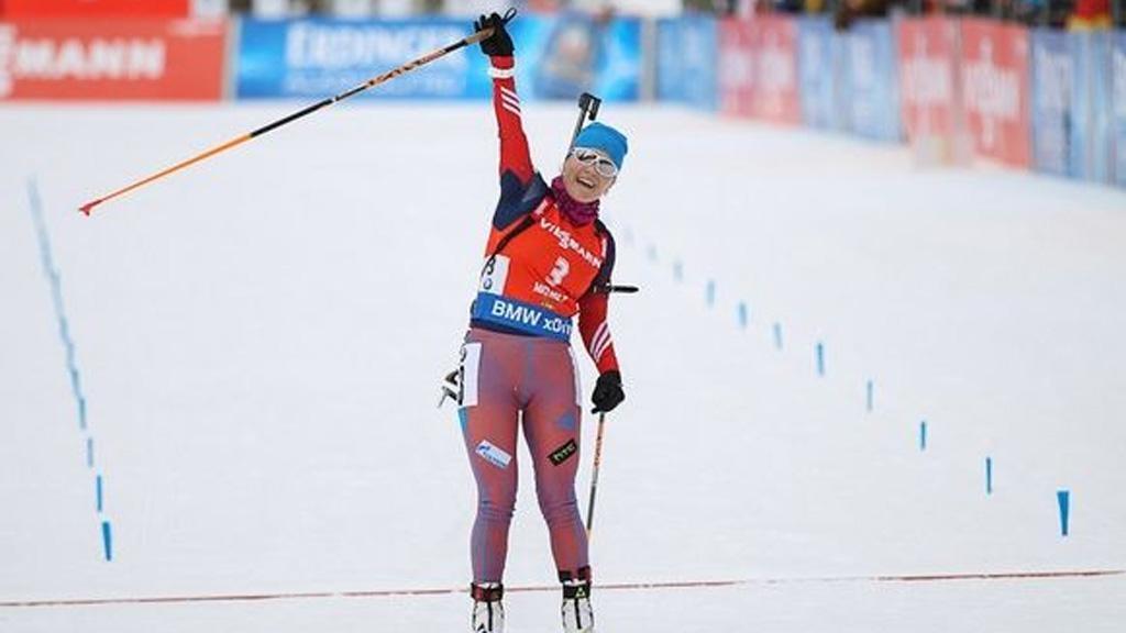 Екатерина Юрлова выиграла масс-старт начемпионате Российской Федерации побиатлону вТюмени