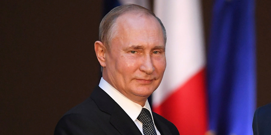 Путин посетил вСочи стартовый матч Кубка мира похоккею «Сириус»