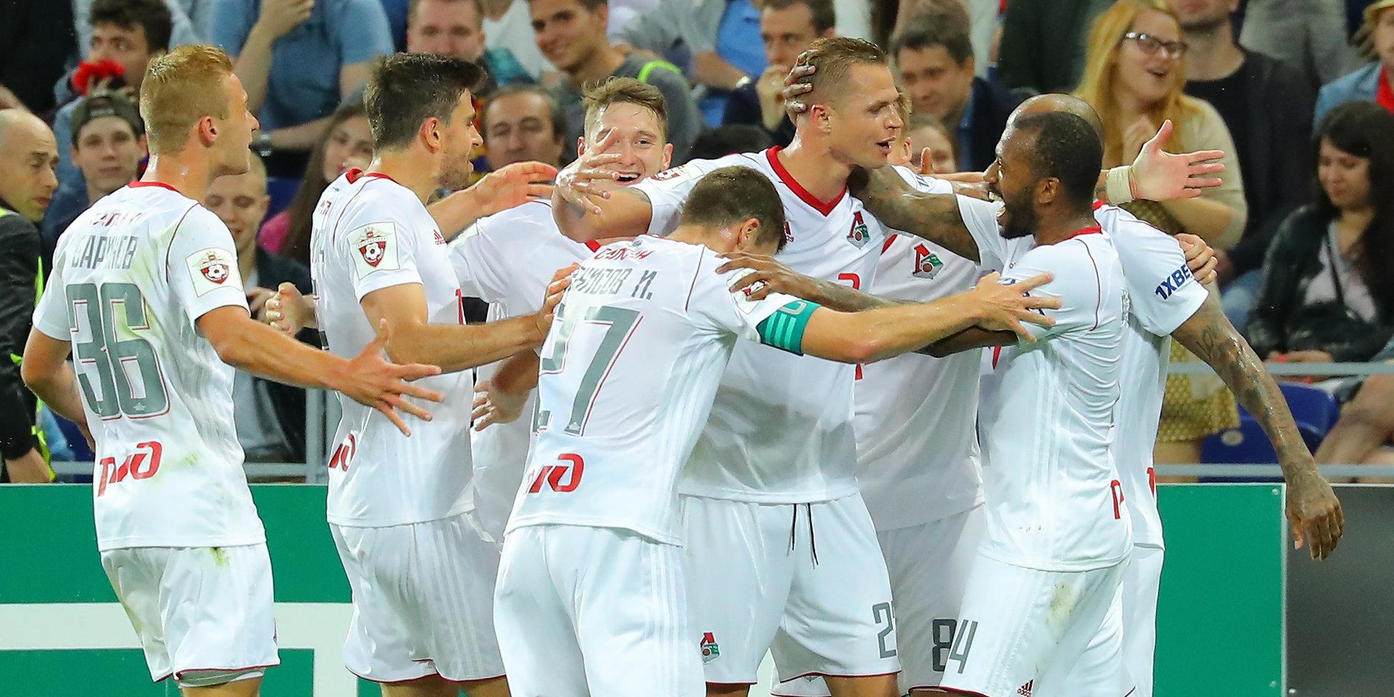 ЦСКА уступил «Локомотиву» вматче 2-го тура РФПЛ