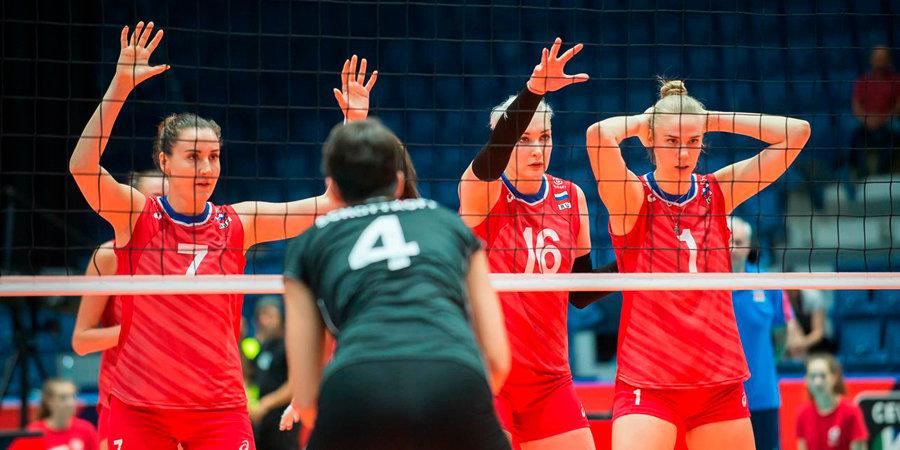 Русские  волейболистки завоевали бронзу Кубка мира