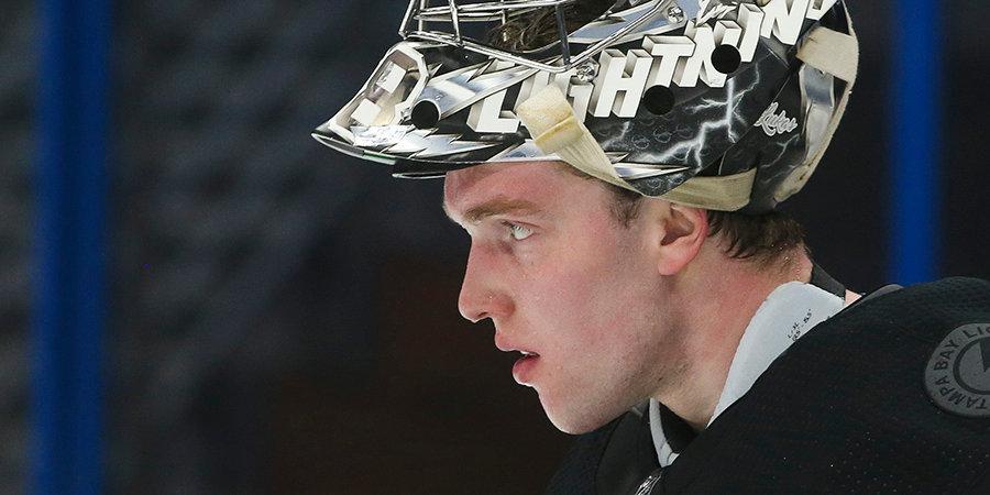Василевский признан лучшим голкипером по версии NHL Network, Худобин — 10-й