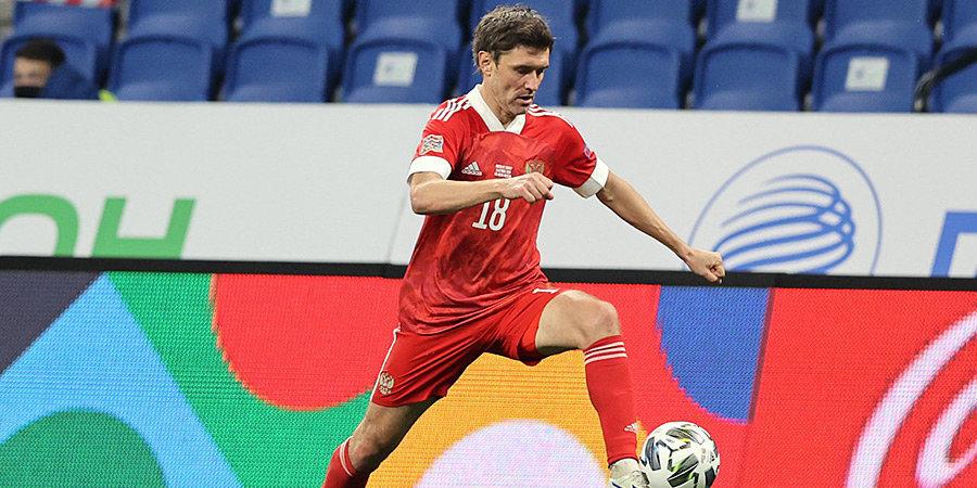 Жирков — в топ-5 самых возрастных игроков на чемпионате Европы-2020