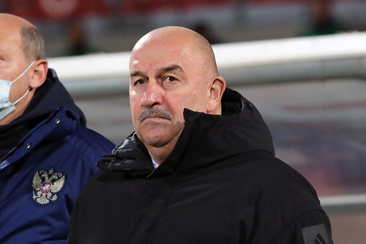 Стал известен стартовый состав сборной России на игру против Словении