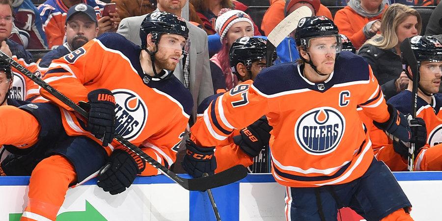 Макдэвид и Драйзайтль уничтожают НХЛ. Откуда взялась эта сумасшедшая связка?