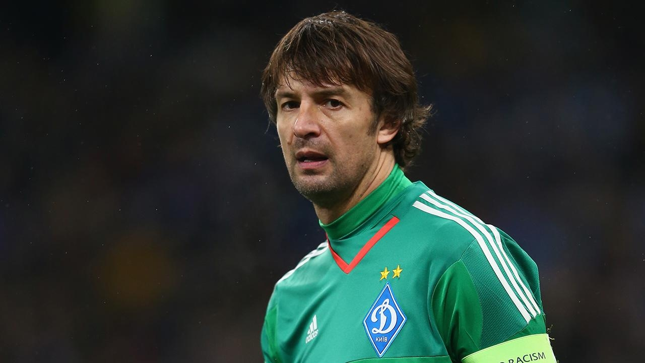 Вратарь киевского «Динамо» Александр Шовковский завершил карьеру в41 год