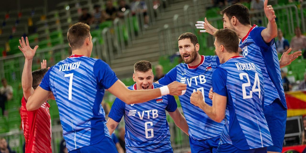 Российские волейболисты сыграют с США и Бразилией на ОИ-2020