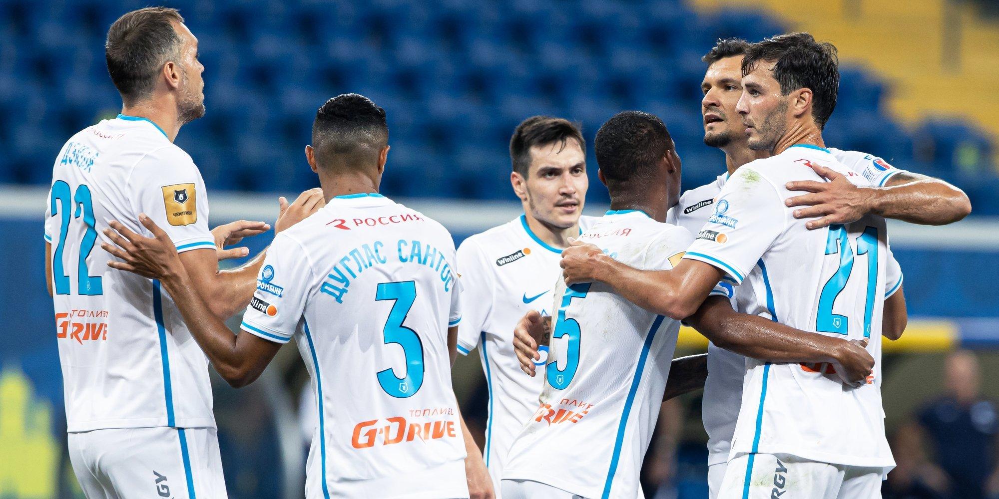 «Зенит» находится на 24-м месте по оценке шансов на триумф в Лиге чемпионов