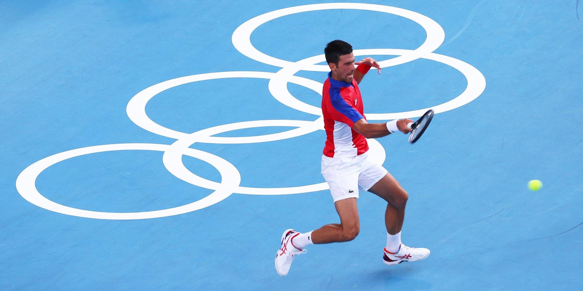 Джокович и Нисикори сыграют в четвертьфинале Олимпийских игр в Токио