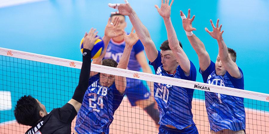 Сборная России одержала первую победу в рамках Лиги наций