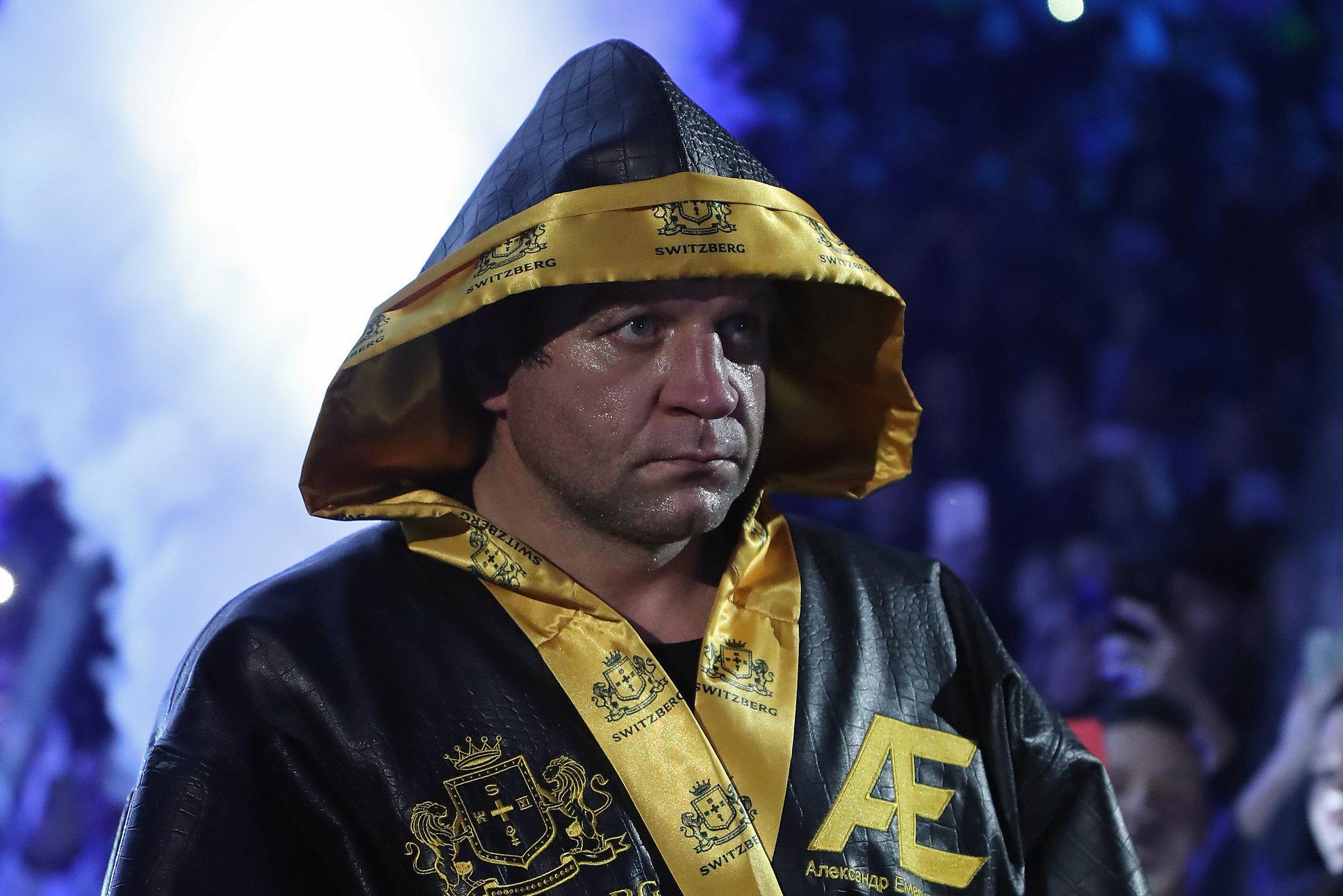 Александр Емельяненко принял вызов Кадырова