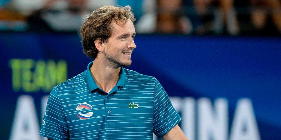 Джокович считает Медведева одним из основных претендентов на победу на Australian Open