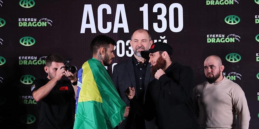 Дудаев победил бразильца Прайа удушающим приемом на турнире АСА 130