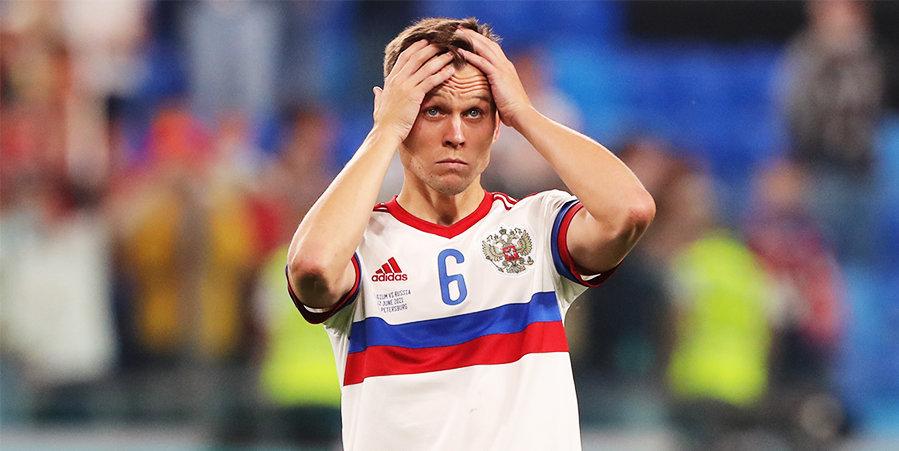 «Как это может быть не обидно?» Черышев прокомментировал свою обратную замену на Евро
