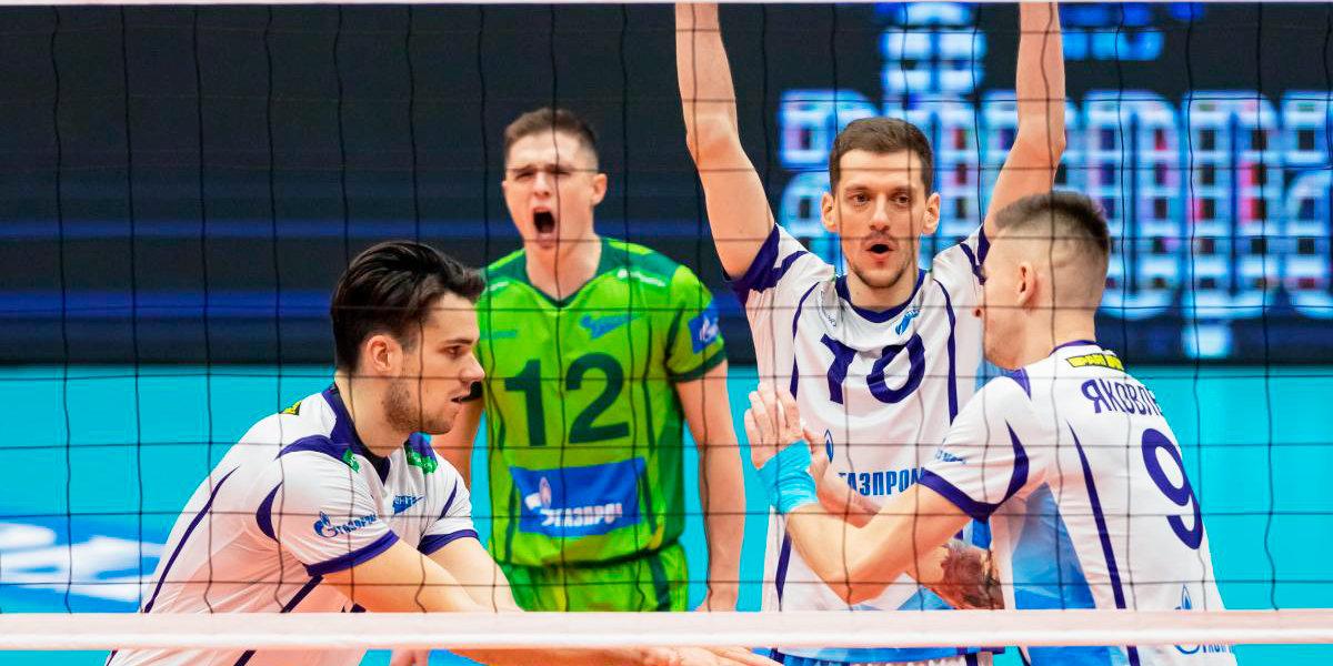 «Зенит» одержал шестую победу подряд в Суперлиге, обыграв «Югру-Самотлор»