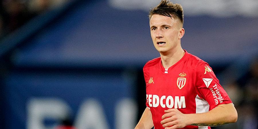 Головин попал в заявку «Монако» на матч чемпионата Франции. Россиянин не играл с августа