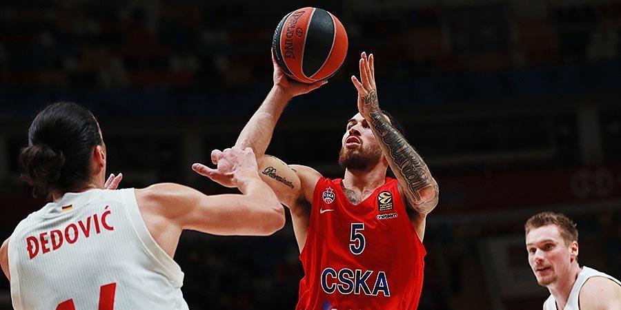 Игра на 11 с плюсом, матч - на 1 миллион. ЦСКА победил в первом домашнем матче Евролиги