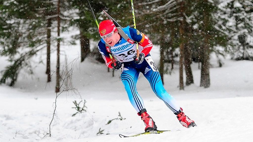 Александр Логинов одержал победу гонку преследования наэтапе Кубка IBU