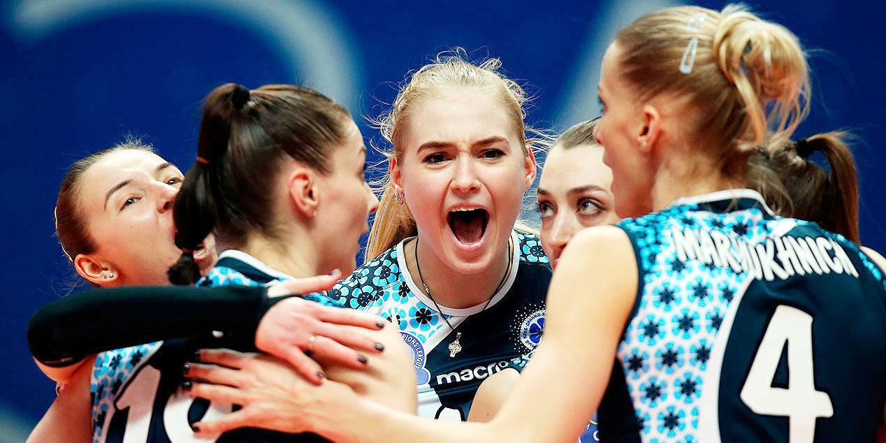 Волейболистки «Динамо-Ак Барса» во второй раз подряд стали обладателями Кубка России