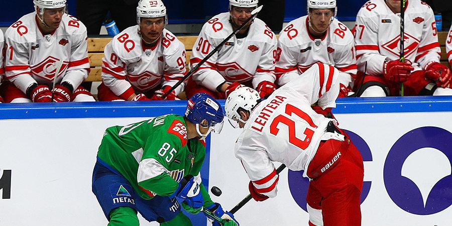 «Спартак» потерпел первое поражение в сезоне, проиграв «Салавату Юлаеву»
