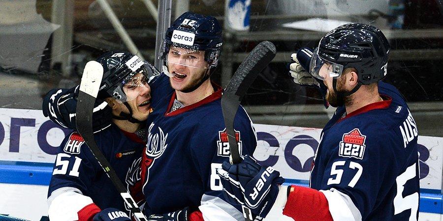 «Торпедо» вышло в плей-офф КХЛ, обыграв «Витязь»